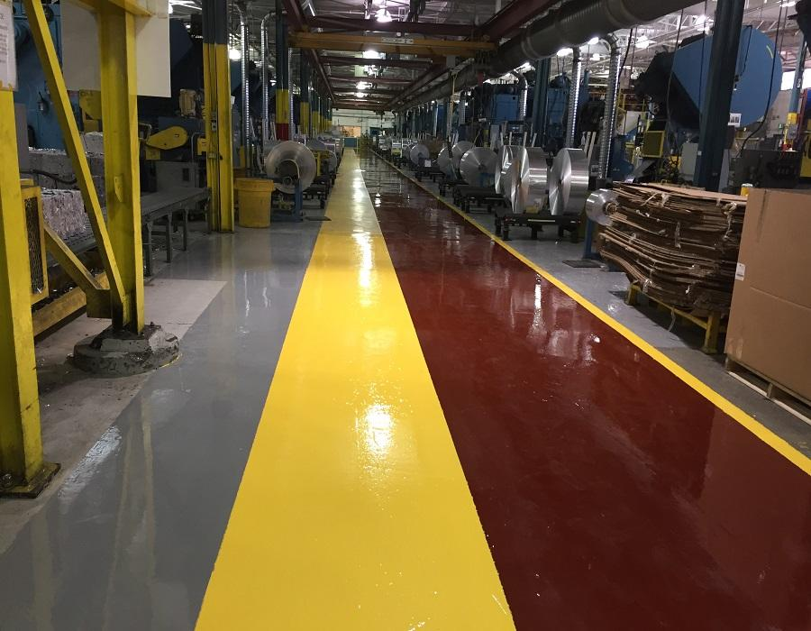 Epoxy Flooring System finishes 1