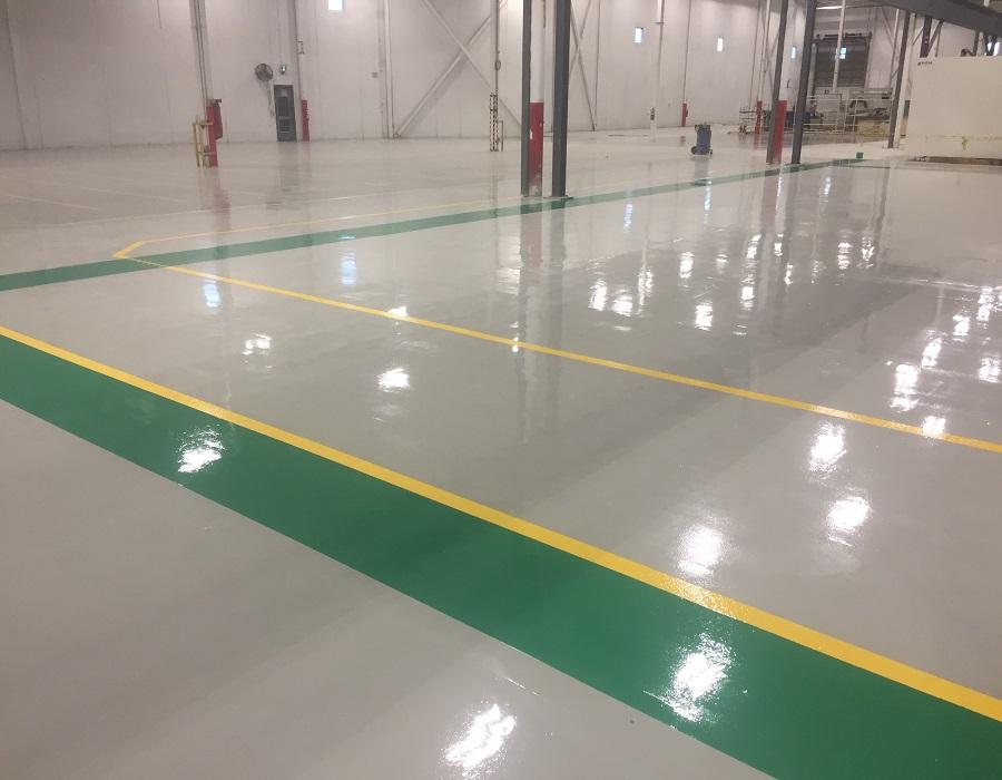 Epoxy Flooring System finishes 2