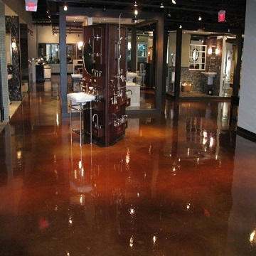 Epoxy Metallic Flooring