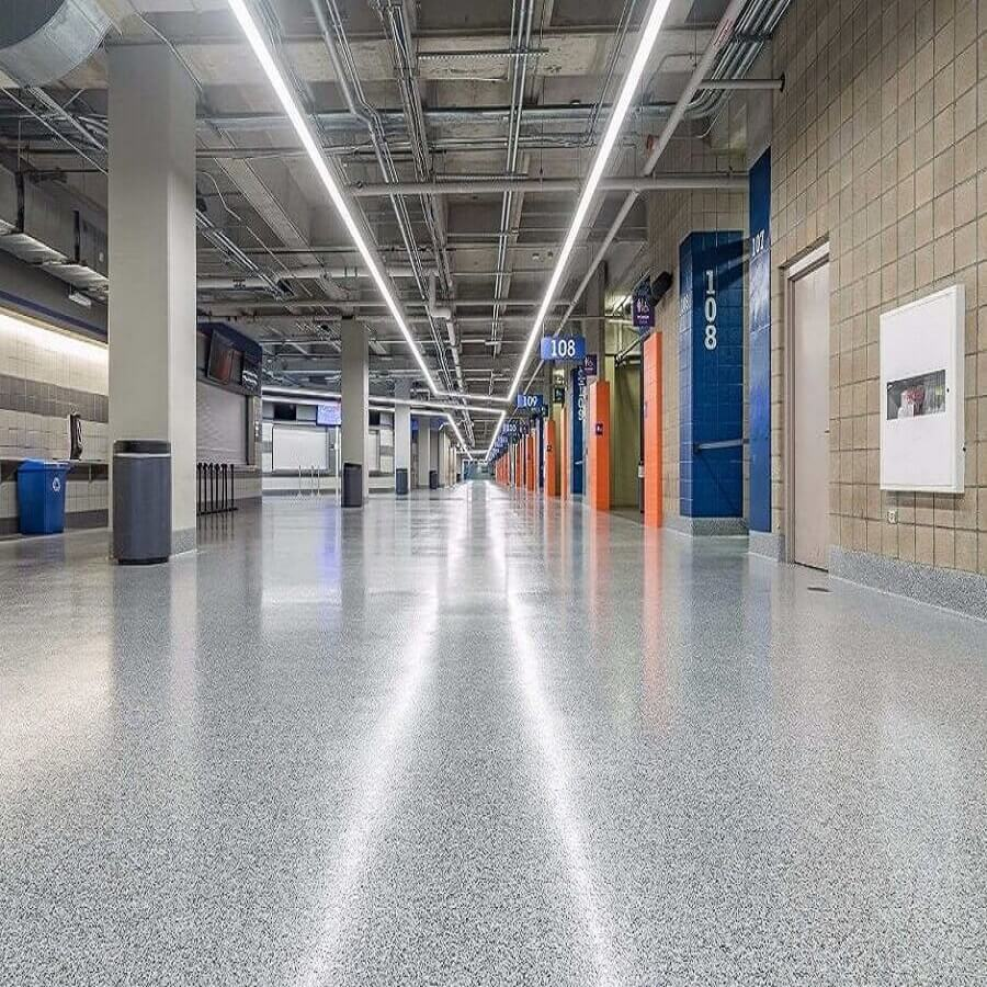 EPOXY FLAKE BROADCAST FLOORING SYSTEM